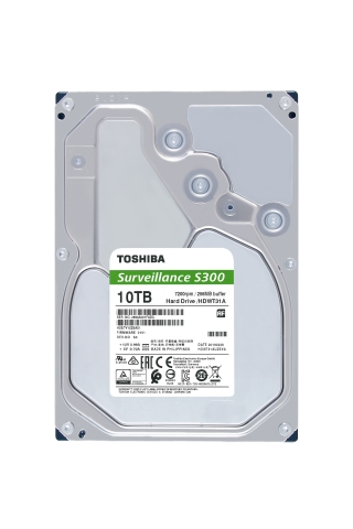 Toshiba: S300 Surveillance Hard Drive series offers 24x7 reliability and high performance with a large cache size up to 256MB. (Photo: Business Wire)