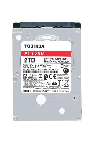 Toshiba: L200 Laptop PC Hard Drive series with up to 2TB capacity in 2.5-inch mobile drives. (Photo: Business Wire)
