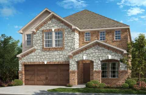 New KB homes now available at Creeks on Hickory in Frisco, Texas. (Photo: Business Wire)