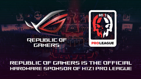 ASUS Republic of Gamers (ROG) Introduced as the Official Hardware Sponsor of H1Z1 Pro League (Graphic: Business Wire)