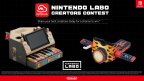 Fans in the U.S. or Canada who are 13 years old or older can choose to enter their Toy-Con creations in the limited-time Nintendo Labo Creators Contest for a chance to win a Nintendo Labo prize package. (Photo: Business Wire)