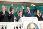 Pivotal Software (NYSE: PVTL) CEO Rob Mee rings The Opening Bell to celebrate the company's IPO on the NYSE. (Photo: NYSE)