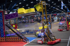 Over 15,000 students, ages 6-18, participated in FIRST Championship Houston, April 18-21. FIRST Championship, the world's largest celebration of science, technology, engineering, and math (STEM) for students, will continue next week with 15,000 more students in Detroit (April 25-28). (Photo: Business Wire)