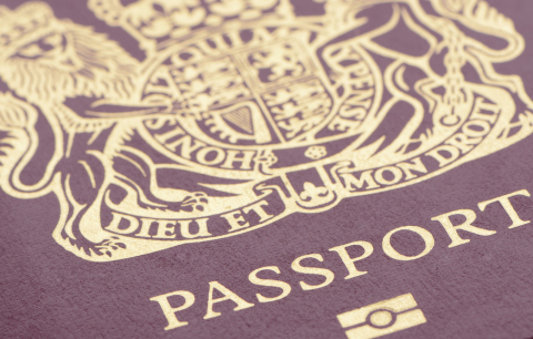 Current British passport. Credit: istockphoto.
