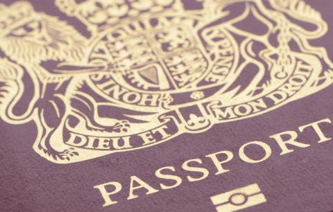 Current British passport. Credit: istockphoto.