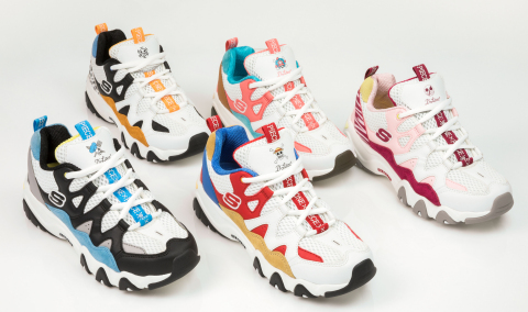 Limited Edition Skechers D'Lites & Toei Animation One Piece