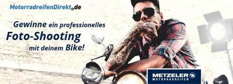 Noch bis zum 30. Juni 2018 eines von insgesamt fünf professionellen Fotoshootings für Bike und Biker gewinnen