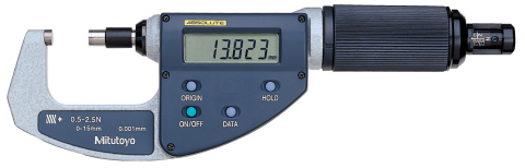 ABSOLUTE Digimatic Micrometer (Photo: Business Wire)