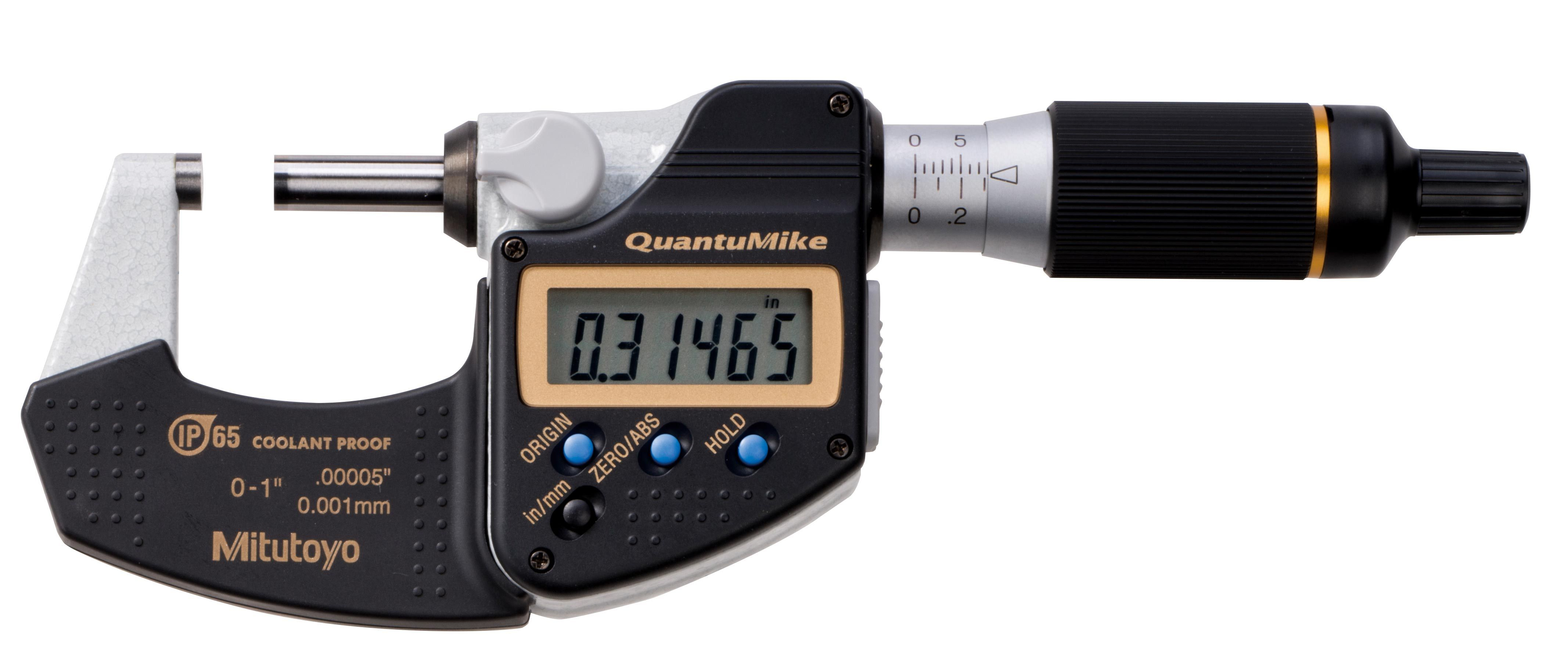 For Use with Coolant Proof... Mitutoyo Micrometer SPC Cable 2 mm Overall Length