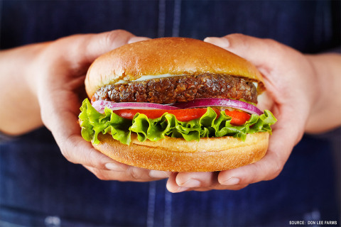Don Lee Farms' Breakthrough Organic Plant-Based Burger