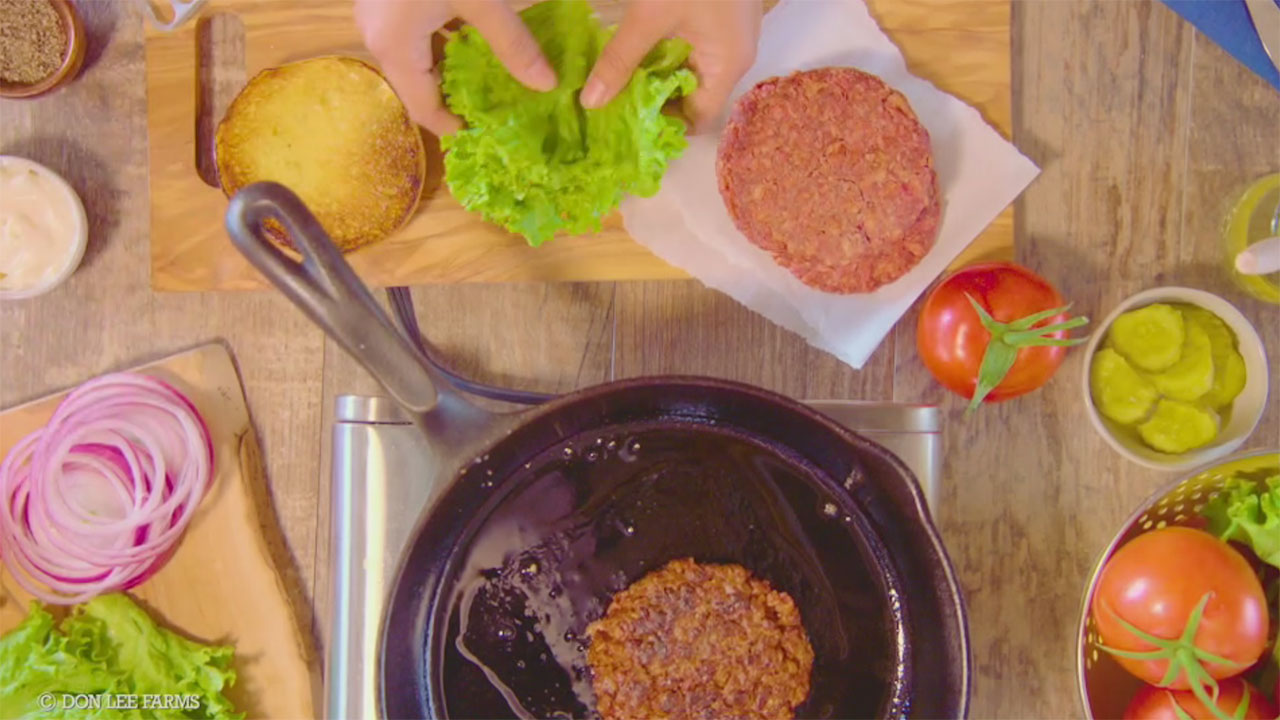 Building an Organic Plant-Based Burger