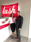 Regional developers, Amazing Lash Studio, Dani Conklin and her father, Dennis Conklin. (Photo: Business Wire)