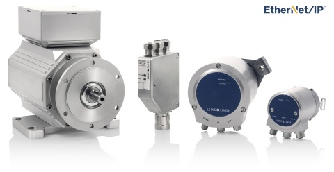 Leine & Linde EtherNet/IP™ encoders are available for oil and gas equipment applications (Photo: Bus ...
