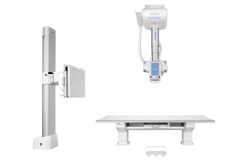 Samsung's GC85A with new S-Vue™ provides greater diagnostic confidence with 50% dose reduction*.  (Photo: Business Wire)