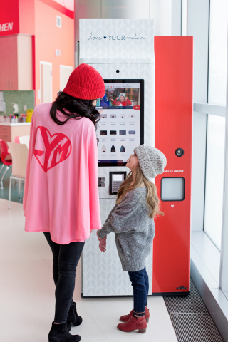 Love Your Melon Celebrates Superhero Day with Worldwide Impact and New Beanie Giving Machines (Photo: Love Your Melon)