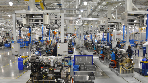 PACCAR Engine Factory in Columbus, Mississippi (Photo: Business Wire)