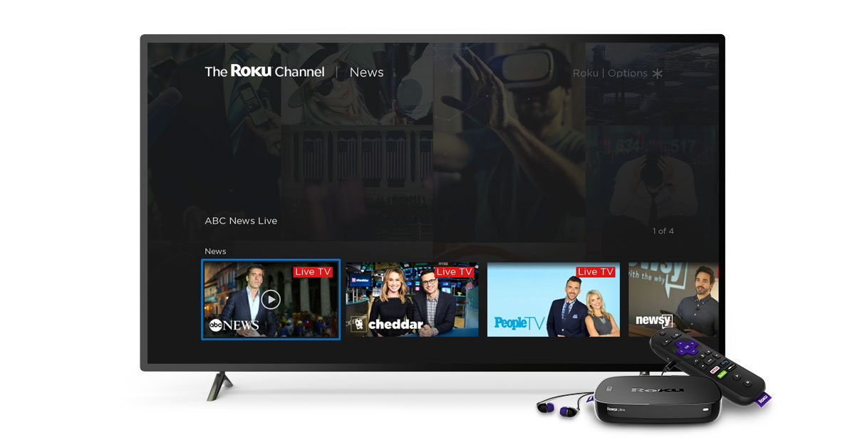 Roku is getting free live news, starting with ABC