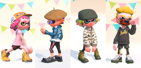 In addition to X Rank, when Version 3.0 goes live this evening, this new update adds more than 100 pieces of gear - some new, some returning from the original Splatoon game - as well as new songs from Chirpy Chips, a popular in-game chiptune-style band featured in the first game. (Photo: Business Wire)