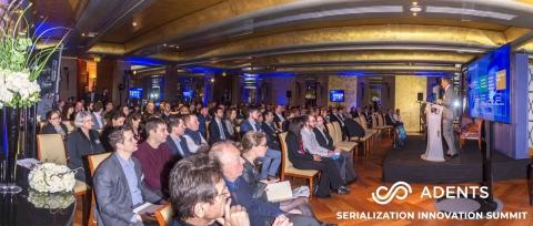 Adents Serialization Innovation Summit - Paris 5 & 6 april 2018. (Photo: Adents)