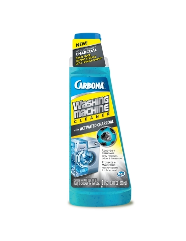 Carbona Washing Machine Cleaner with Activated Charcoal is now available nationwide in select retail locations and at Carbona.com. (Photo: Business Wire)