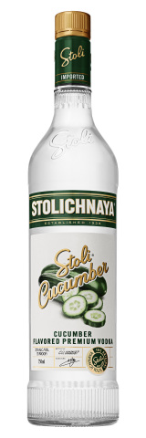 Today, Stoli Vodka announced the first flavor to join its premium range in more than five years -- fresh Stoli Cucumber, just in time for summer. (Photo: Business Wire)