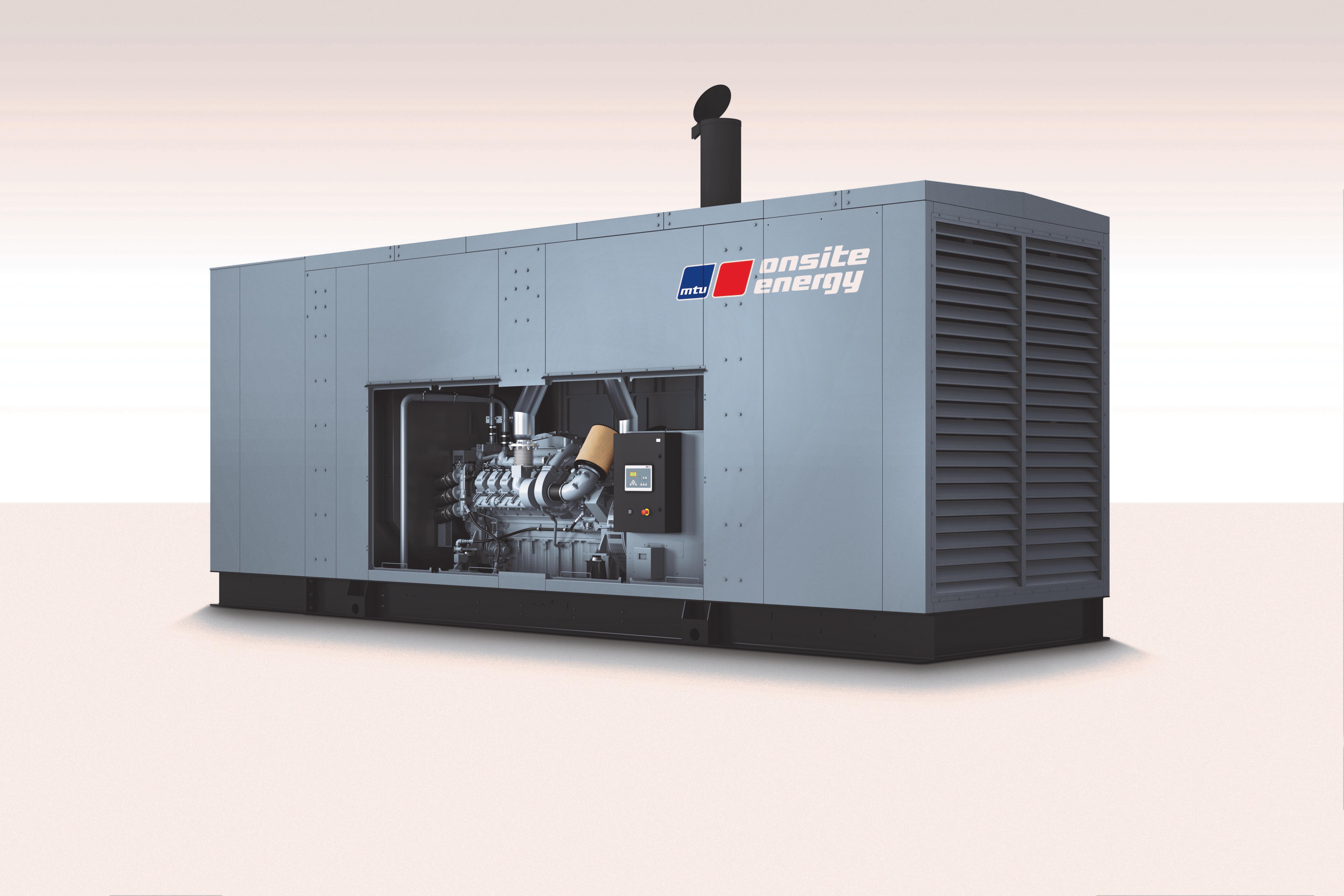 Rolls-Royce Introduces New MTU Onsite Energy Diesel