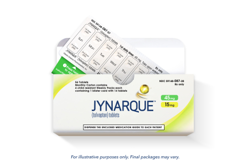 JYNARQUE 45mg (Photo: Business Wire)