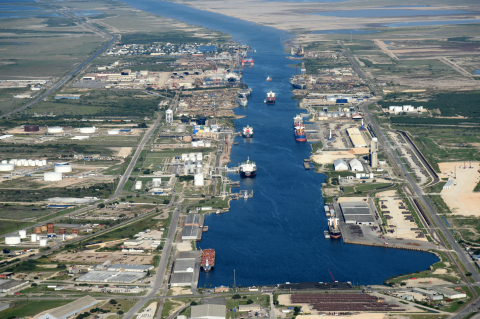 The Port of Brownsville is the only deepwater seaport directly on the U.S.-Mexico border, and the largest land-owning public port authority in the nation with 40,000 acres of land. (Photo: Business Wire)