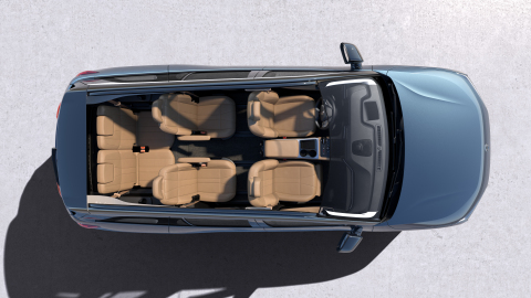 NIO ES8 interior (6-Seater) (Photo: Business Wire)