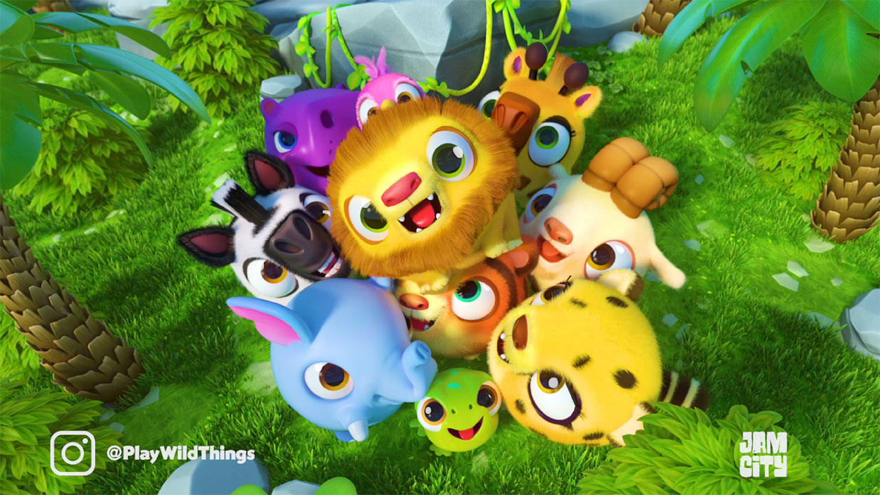 Jam City's Wild Things: Animal Adventure Teaser Trailer: Meet the Characters