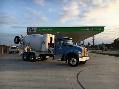 Clean Energy will supply its Redeem™ renewable natural gas (RNG) to 118 Catalina Pacific ready-mix concrete trucks. (Photo: Business Wire)