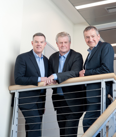 Jeffrey Fryer, CPA, Martin Mackay, PhD, and Stephen Uden, MD (left to right) co-founded Rallybio, a biotech company established to identify and accelerate the development of transformative breakthrough therapies for patients with severe and rare disorders. (Photo: Business Wire)