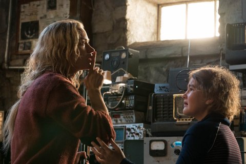 """Paramount Pictures returned to profitability in the quarter, and continued its momentum in April with box office hit """"A Quiet Place,"""" the first film produced and released by the studio's new management team. (Credit: Paramount Pictures)"""