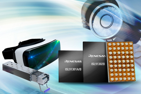 Renesas ISL91301/02 Multiphase PMICs Deliver Highest Efficiency and Smallest Footprint (Photo: Busin ...