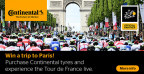 Experience the Tour de France live with Mytyres.co.uk and Continental (Photo: Business Wire)