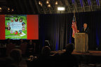 The Olde Farm Founder Jim McGlothlin announces event details (Photo: Business Wire)