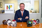 Patrick Nelson, president and CEO of Nelson Brothers, announces the formation of a new student housing company, Nelson Partners.(Photo: Business Wire)