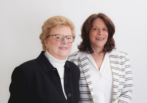 Broker/Partners Mary White (left) and Maureen White-Kirkby lead Great Barrington-based Barnbrook Realty, which today joined the Berkshire Hathaway HomeServices real estate brokerage network. (Photo: Business Wire)