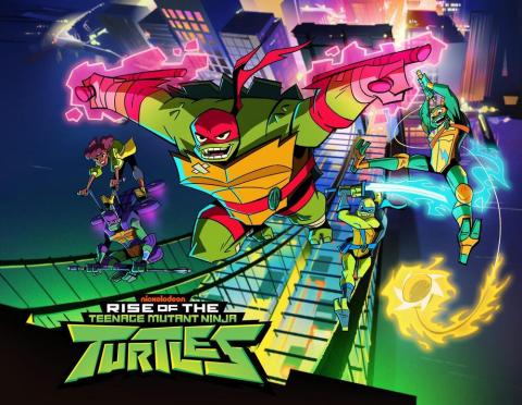 Nickelodeon's new animated series Rise of the Teenage Mutant Ninja Turtles follows the band of brothers as they discover new powers and encounter a mystical world they never knew existed beneath the streets of New York City. The 2D-animated series debuts later this year on Nickelodeon. (Photo: Business Wire)