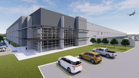 Airport South Logistics Center-DFW (Photo: Business Wire)