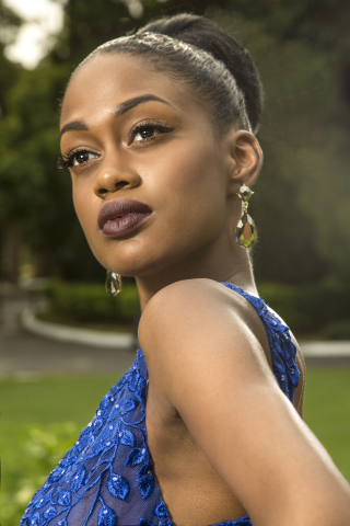 LeShae Riley Caribbean Next Top Model-Season 4 winner. (Photo: Business Wire)