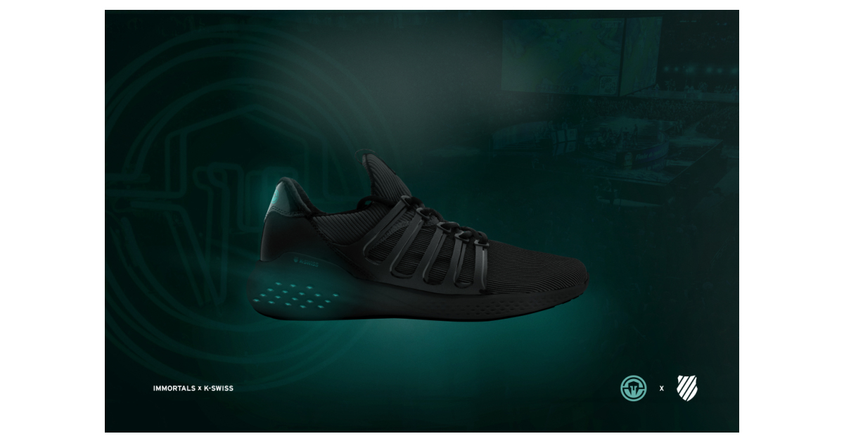 K-Swiss and Immortals Announce First