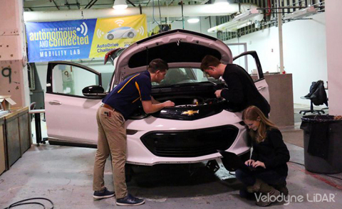 Kettering University Vehicle (Photo: Business Wire)