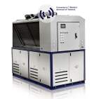 Dual 15 HP Pro V Scroll Series Packaged Chiller System IoT Equipped (Photo: Business Wire)