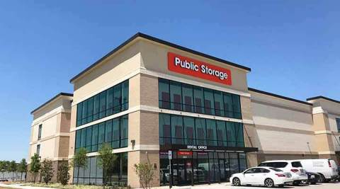 Public Storage at 2047 Witt Rd. in Frisco, Texas, opened today with more than 750 spaces to serve the fast-growing suburb of Plano. (Photo: Business Wire)