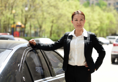 2.3 million women drivers find flexible work and income driving for DiDi. (Photo: Business Wire)