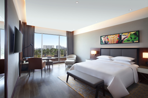 A Grand Room view in Grand Hyatt Kochi Bolgatty (Photo: Business Wire)