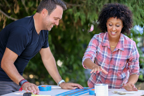 Tamera Mowry-Housley and Adam Housley, stars of the HGTV special 'The Housleys' (Photo: Business Wire)