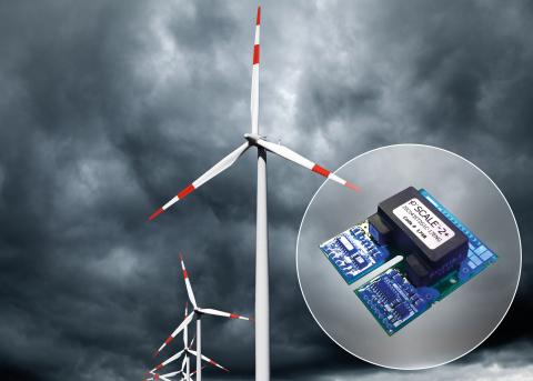 Power Integrations可提供已涂覆三防漆的SCALE门极驱动器(照片:美国商业资讯)