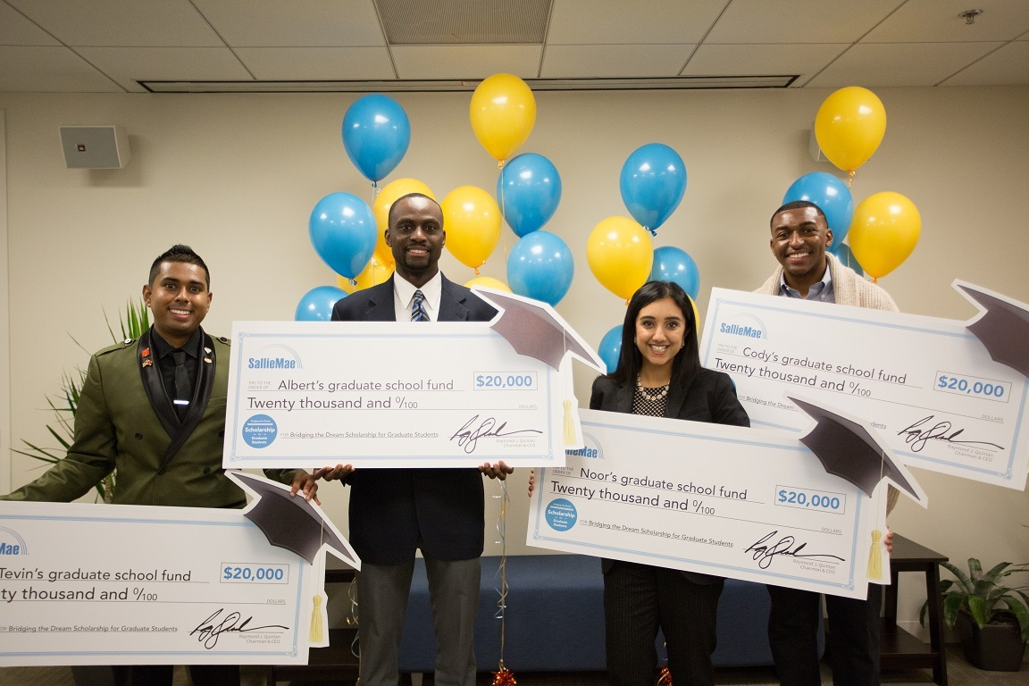cd8aed07a04ec Four Inspirational Graduate Students Surprised with $80,000 in ...